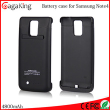 External battery pack Charger power battery case 4800MAH For samsung note 4 Battery recycling plant
