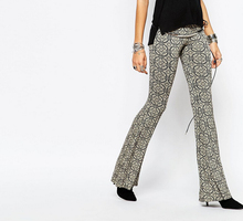 2015 New Style Multi Color Bell Bottom Flare Trouser for Women / 8 Sizes / 4 Colors OEM / Low Price