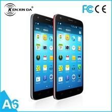 KENXINDA A6 MTK6582 Tricore 1.3GHz Android 4.4 Cellphone 3G cheap Smart phone 5.0'' 5MP Camera