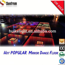 2015 Popular South Africa wedding 3D clubs led dance floor stage light