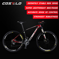 BRAND NEW costelo 27.5 MTB Frame carbon Bicylce Mountain Bike Ultralight 27.5 MTB Frame M4000 groups wheels saddle bar tire