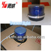 waterproof red,blue led flashing rotating beacon light for police ,DC12v