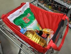 Most popular design durable folding quality shopping cart bag