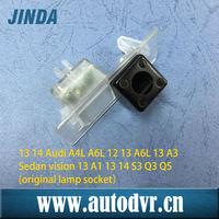 Specialized car rearview camera for 13 14 Audi A4L A6L 12 13 A6L 13 A3 Sedan vision 13 A1 13 14 S3 Q3 Q5(original lamp socket)