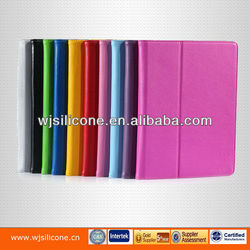 Stand tablet case with card slot inside PU cover for ipad 2/3/4