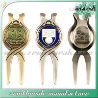 2014 Souvenir die casting antique golf divot repair tools and ball marker