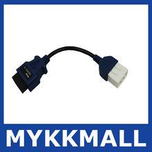 2012 professional Denso connector 12 pin /truck diagnostic cable--Demi