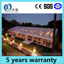 20m span wooden floor PVC garden party marquee tent for sale Used for different outdoor events