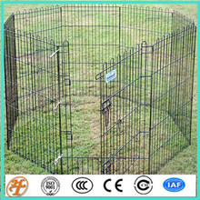 removable chain link 5'x 10' x10' playpen dog pannel kennels