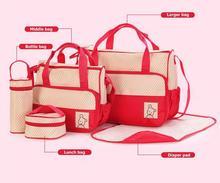 Brand new new design mummy bag cute nappy bag adult diaper bag