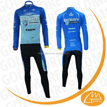 NB GOLDMORE winter pro team men custom design sublimation print long sleeve cycle jersey