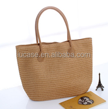 2015 hot selling straw summer beach bag for women
