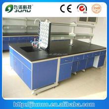 Wholesale all wood epoxy resin powder coated lab bench top / lab wood equipment