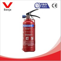 1kg ABC type fire extinguisher with ISO approval certificate for warehouse