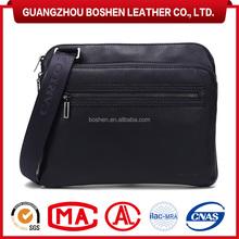 New Design Genuine Leather Shoulder Bag Messenger Bag Men