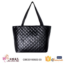 hot selling Women knit hand bag single shoulder bags pu leather weave bags manufacture