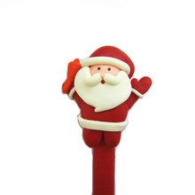 fimo polymer clay santa claus Christmas pen
