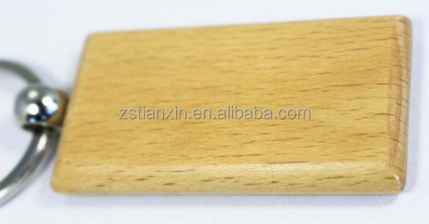 China wholesale blank/engraving wood key chain