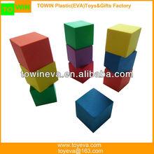 Customized EVA foam colored cubes(Teaching aids)