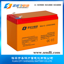 12V 8A Maintenance Free Lead Acid Batteries/Dry Batteries For Ups