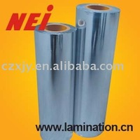 21mic METALIZED SILVER PET FILM, great aluminium coated