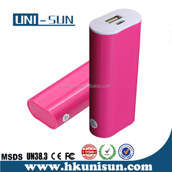 wholesale 2015 new style ups battery 5000mAh 5200mAh 5600mah power bank , cellphone lover portable charger