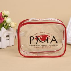 custom clear plastic cosmetic pvc mini ziplock bag