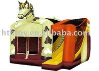 Heng Tai Hua inflatable bouncer with slide