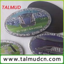 Various Customized 3d aluminum foil paper fridge magnet