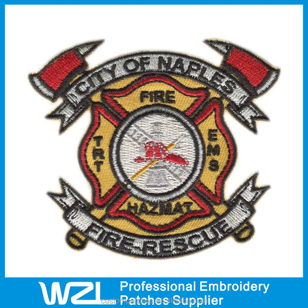 Custom embroidery patches no minimum in low price high