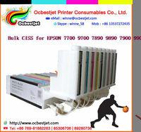 Hot sales! Bulk ciss system for EPSON 7700 9700 7890 9890 7900 9900 large format printer ciss