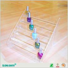 Guangzhou Wholesale Manufacturer 5 tier acrylic nail polish display retail store display