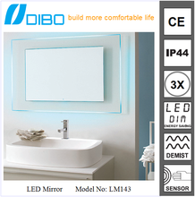 DIBO designer high quality led light factory mirror china wholesale