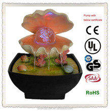 rolling ball seashell fountain gifts and crafts