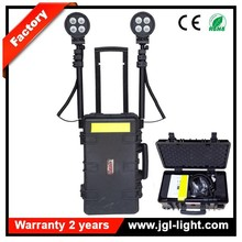 Waterproof and shock proof heavy duty outdoor search light RLS-80W cree led 5000lm military operation lighting