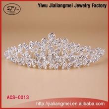 Hair bands, hair bands Korean Korean women's diamond tiara headband alloy hair ornaments