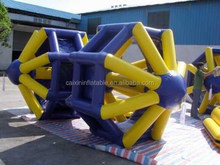 Hot Sale inflatable water wheel inflatable water roller ,inflatable water toy