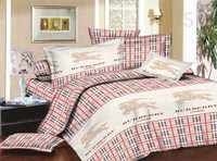 100% polyester 90gsm 3d disperse printed bed cover set quilt cover 3d printed bedding set