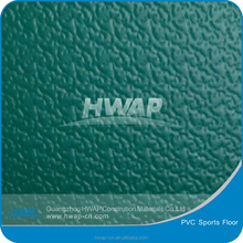 Indoor grass grain soft sports courts standard use PVC sports floor