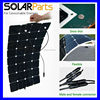 100w Mono sun power flexible solar panel system for yacht boat RV boat pv module