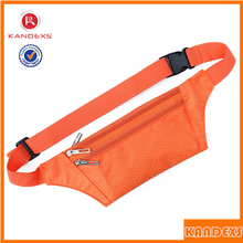 Waterproof Ultra-thin Sport Waist Bag Mobile Phone Bags Certificates For Small Package