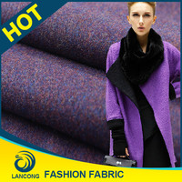 China Manufacturer Knit Clothing polyester wool fabric