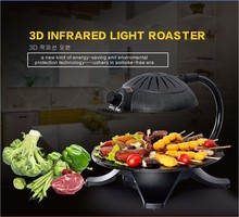 6.2kg Non-stick rotate roaster