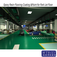 Self Levelling Epoxy Resin Park Lot Floor Coating and Paint