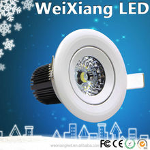 High quality power dimmable 30w cob led downlight CE,FCC,ROHS,UL Certification approved