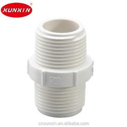 BS standard PVC nipple M/M