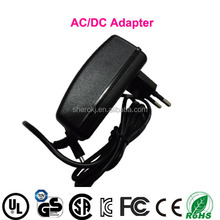 EU wall switching 5v 2.5a ac dc power adapter, wall mount ac 220V transformer converter, led driver