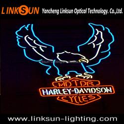 Harley Davidson Motorcycles Beer Bar Neon Sign