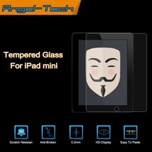 Best price! 0.3mm tempered glass screen protector for iPad mini