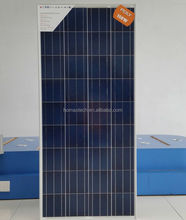 156x156 cell 12v 150w poly solar panel